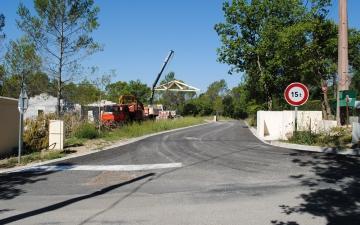 Ancienne route de St Paul 1ere Tranche